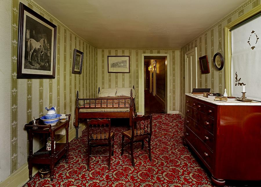 The Room Where Abraham Lincoln Died Photograph By Everett