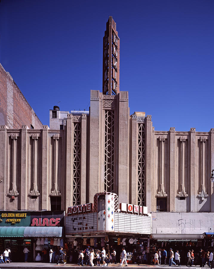 2000s Photograph - The Roxie Theater, Built By John M by Everett
