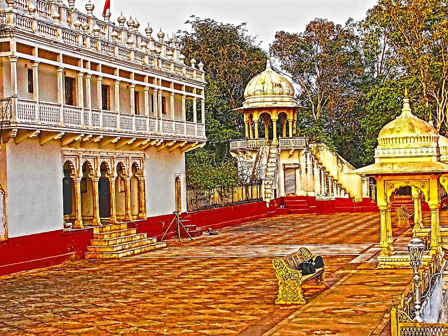 Shivpuri Photograph - The Royal Corridor by Makarand Purohit