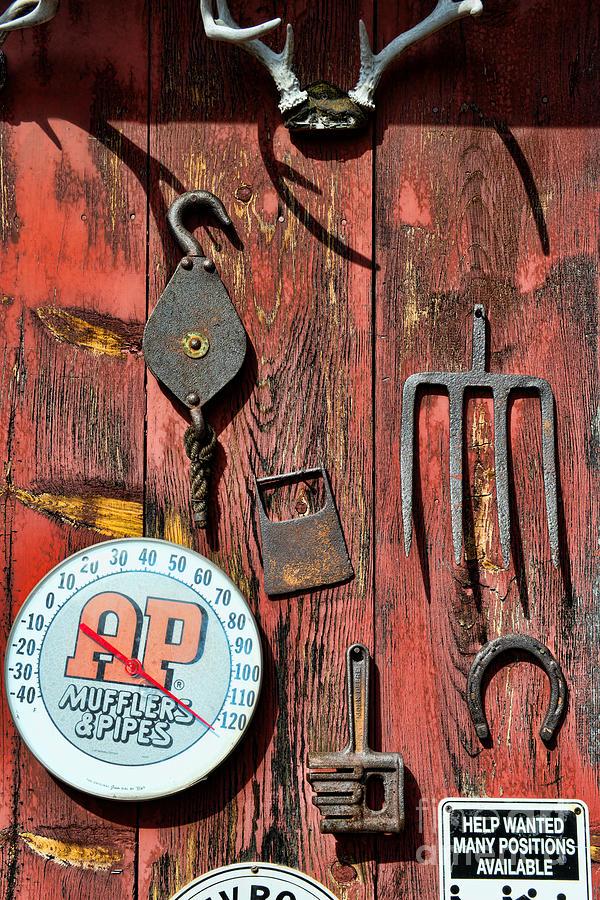 Barn Photograph - The Rusty Barn - Farm Art by Paul Ward