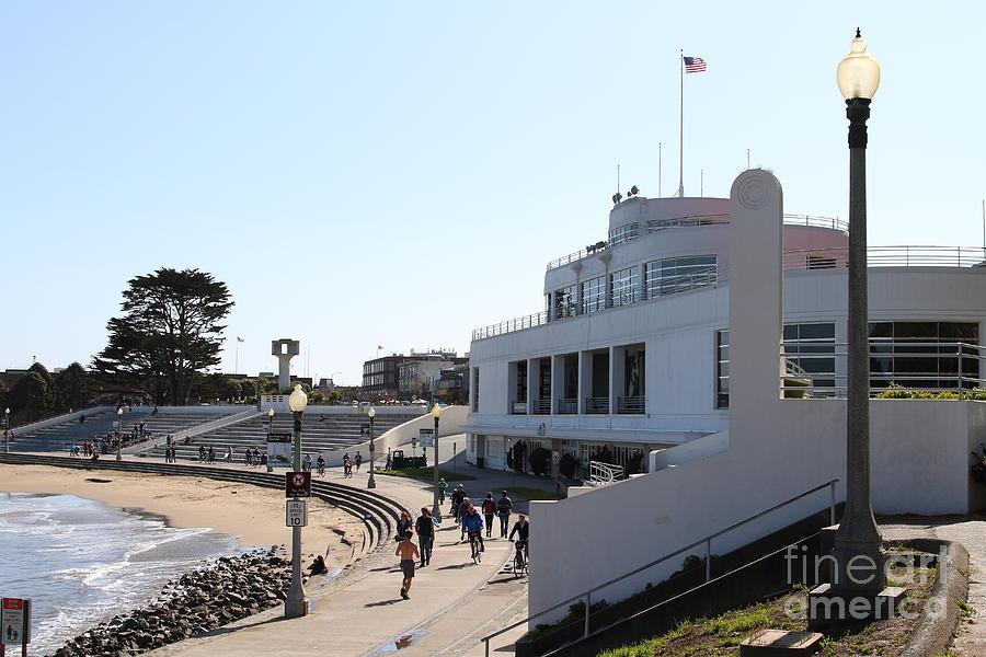San Francisco Photograph - The Sala Burton Building . Maritime Museum . San Francisco California . 7d13993 by Wingsdomain Art and Photography