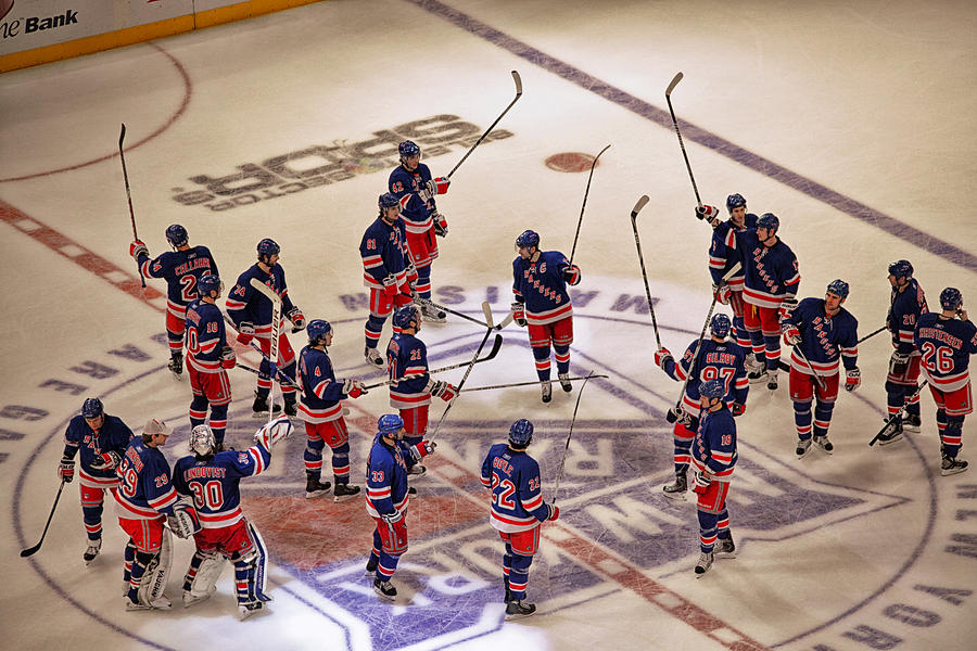 Hockeyice Hockey Photograph - The Salute by Karol Livote