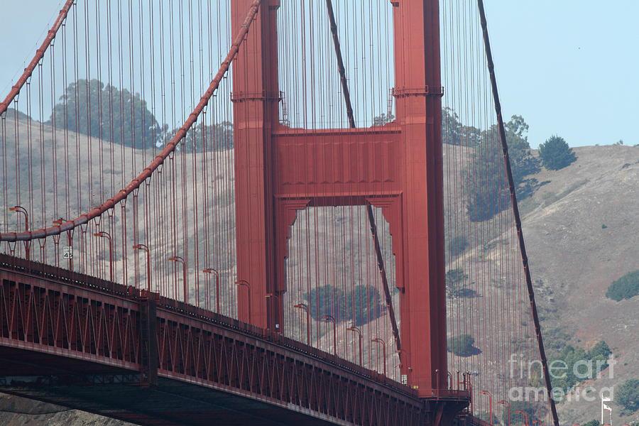 San Francisco Photograph - The San Francisco Golden Gate Bridge - 7d19057 by Wingsdomain Art and Photography
