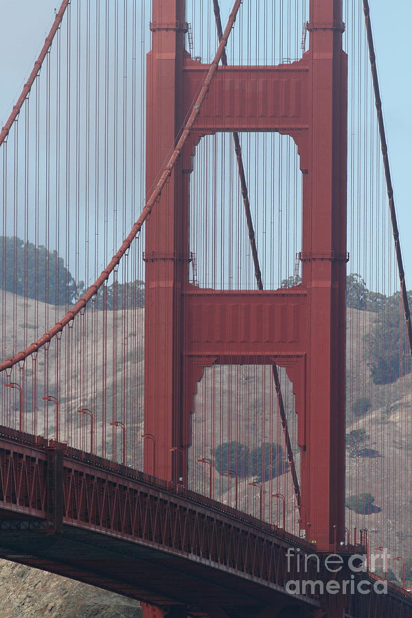 San Francisco Photograph - The San Francisco Golden Gate Bridge - 7d19061 by Wingsdomain Art and Photography