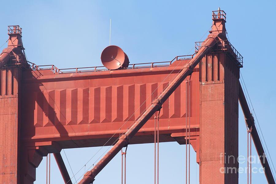San Francisco Photograph - The San Francisco Golden Gate Bridge - 7d19108 by Wingsdomain Art and Photography
