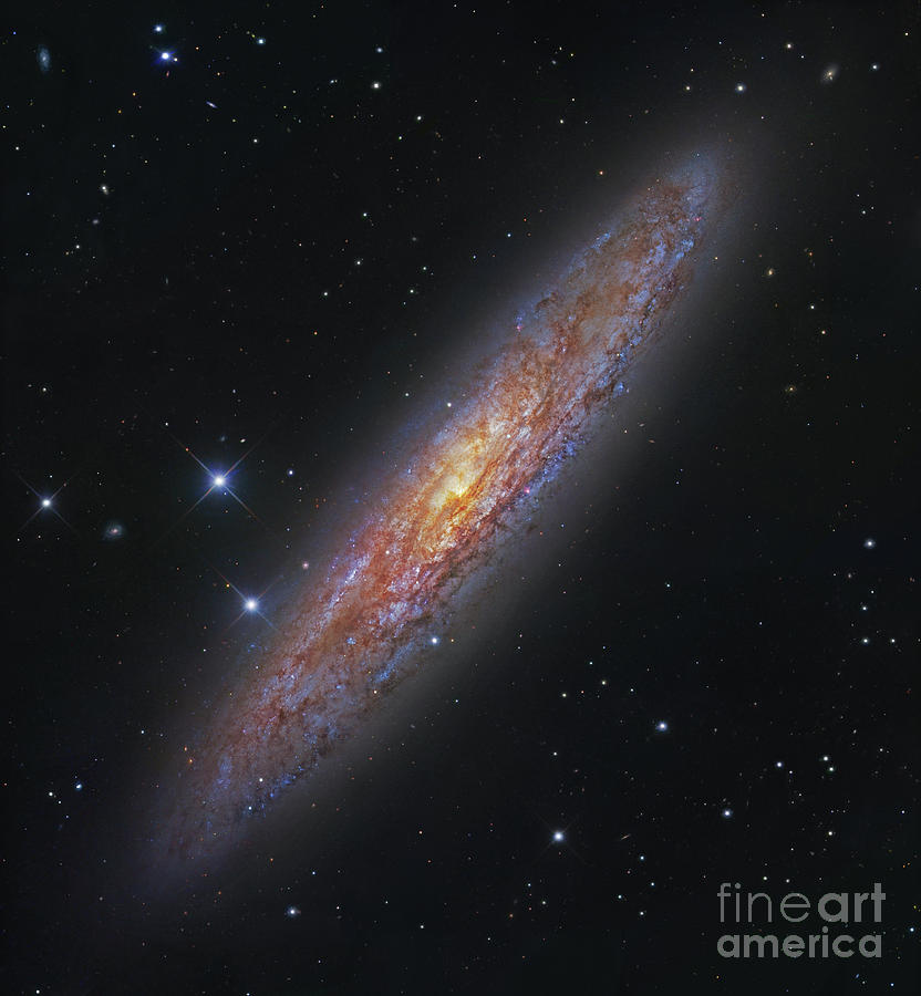 Constellation Photograph - The Sculptor Galaxy, Ngc 253 by Robert Gendler