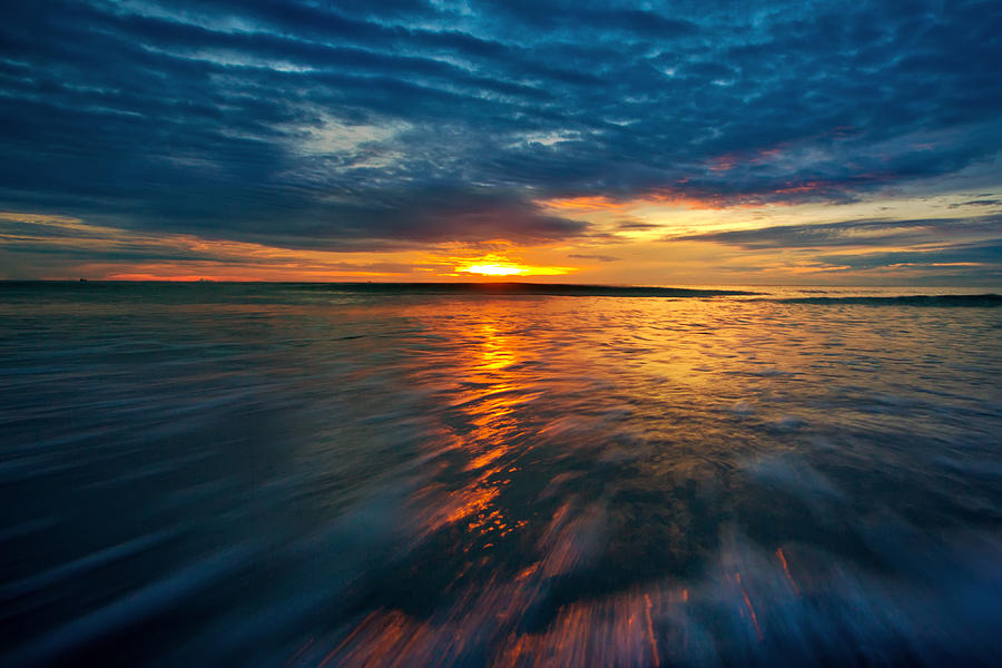 Sea Photograph - The Seascape Huahin Thailand by Arthit Somsakul
