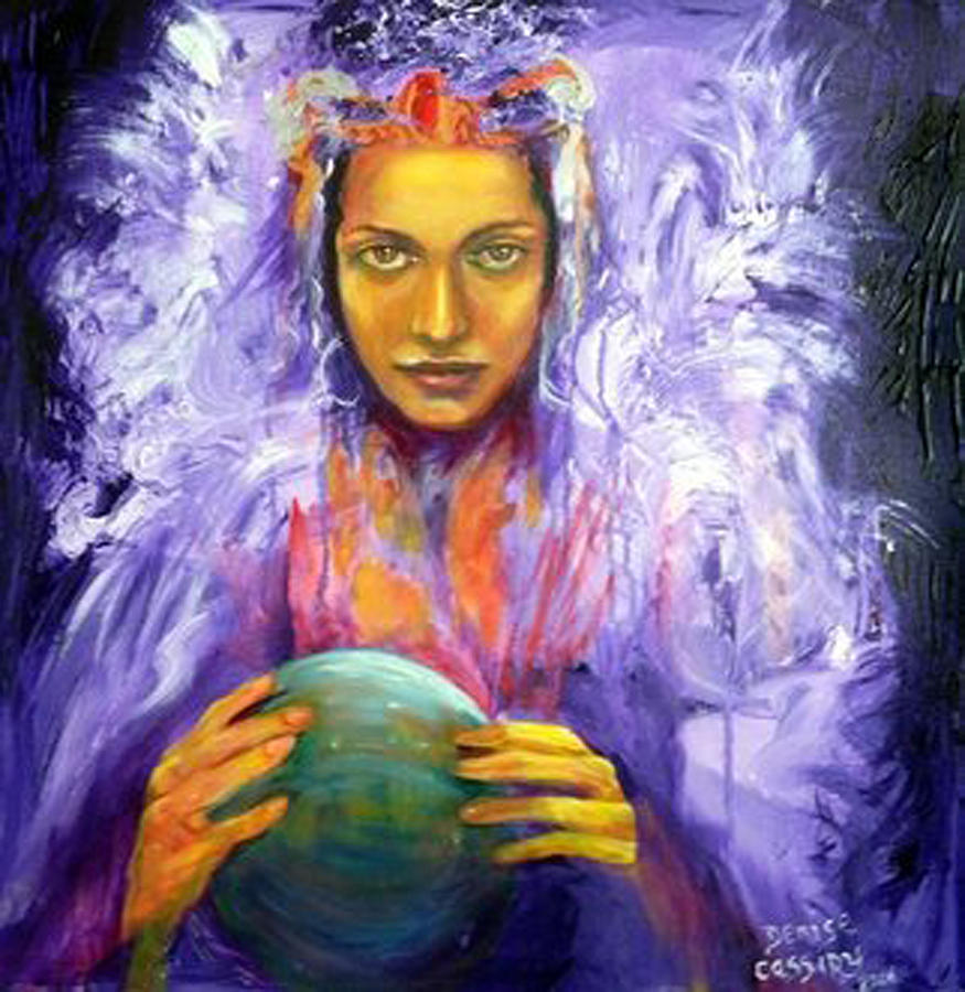 The Seer Painting by Denise Cassidy