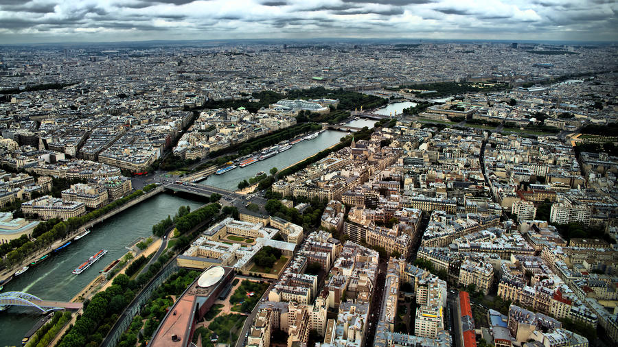 Seine Photograph - The Seine River 2 by Edward Myers