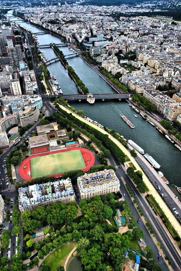 Seine Photograph - The Seine River by Edward Myers