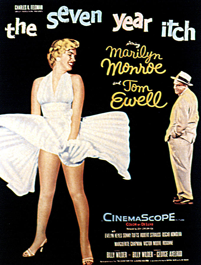 1955 Movies Photograph - The Seven Year Itch, The, Marilyn by Everett