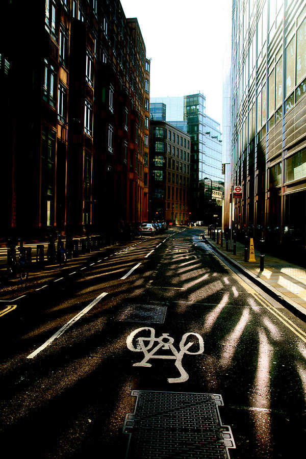 Photographer Photograph - The Shady Streets Of The City by Jez C Self