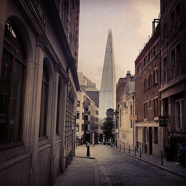 Urban Photograph - The Shard by Samuel Gunnell