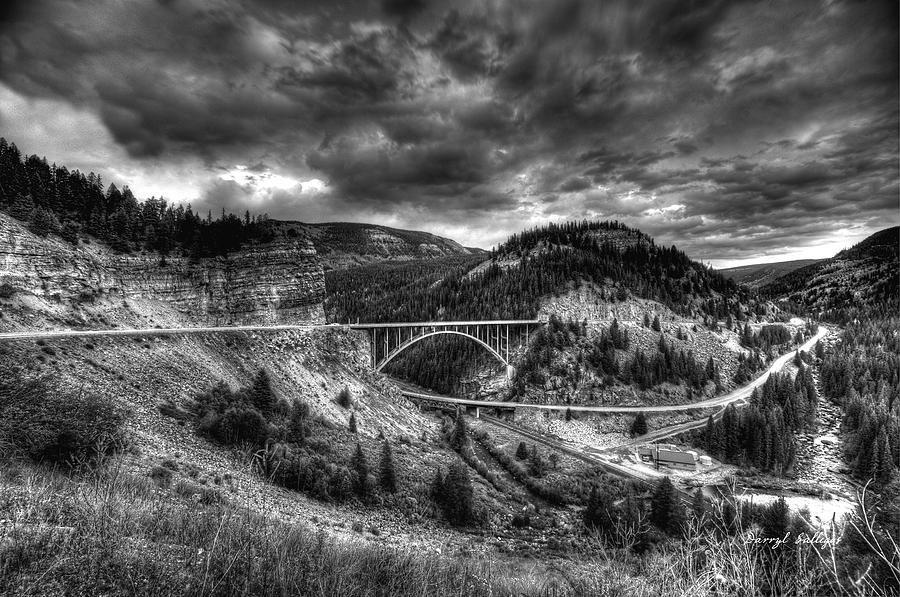 Black And White Photograph - The Silver At Sunset by Darryl Gallegos