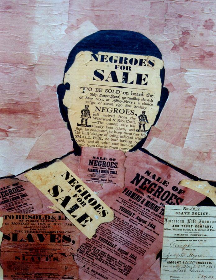Slavery Digital Art - The Slave by  Andy Tate