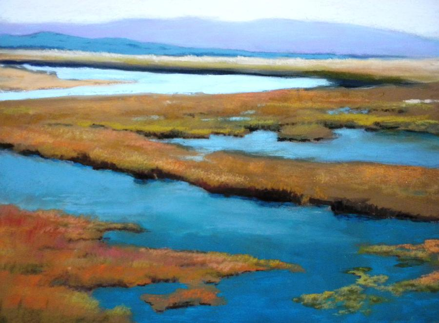 Landscape Painting - The Slough by Maralyn Miller