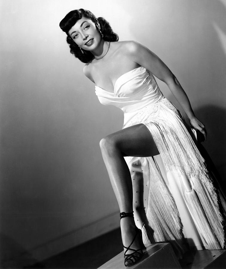 Ankle Photograph - The Sniper, Marie Windsor, 1952 by Everett