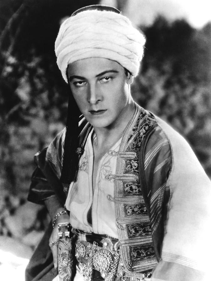 1920s Movies Photograph - The Son Of The Sheik, Rudolph by Everett
