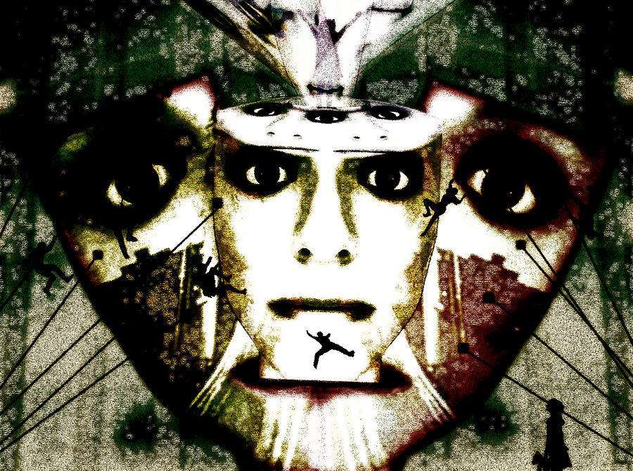 Eyes Mixed Media - The Source by Jenn Bodro