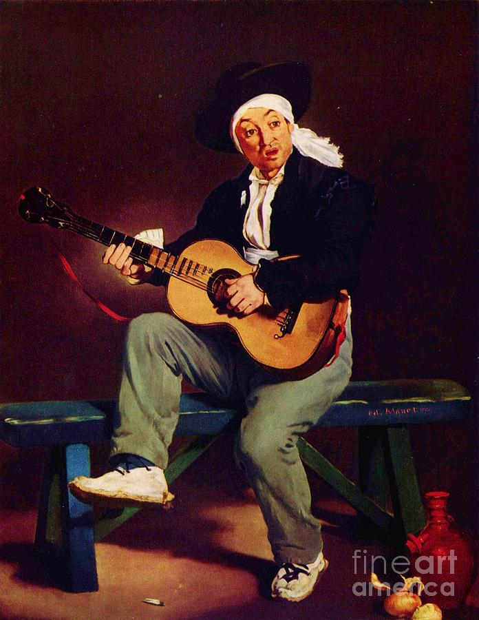 Pd Painting - The Spanish Singer by Pg Reproductions