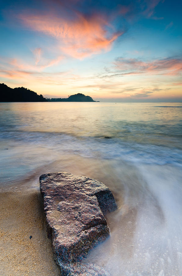 Stone Photograph - The Stone by Yusri Salleh