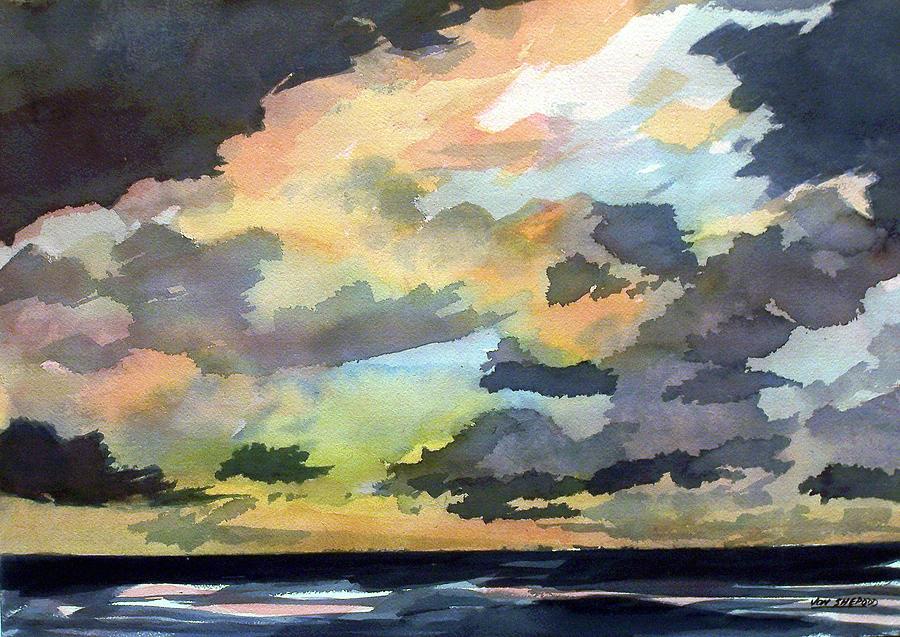 The Storm Breaks Painting by Jon Shepodd