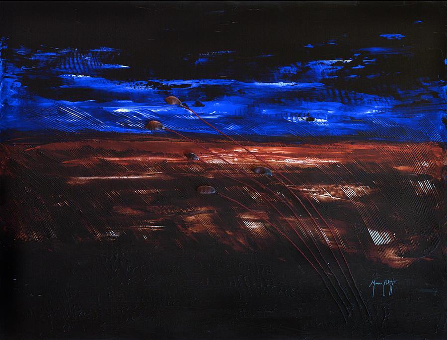 Art Mixed Media - The Storm by Mauro Celotti