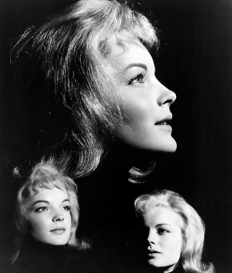 1954 Movies Photograph - The Story Of Vickie, Romy Schneider by Everett