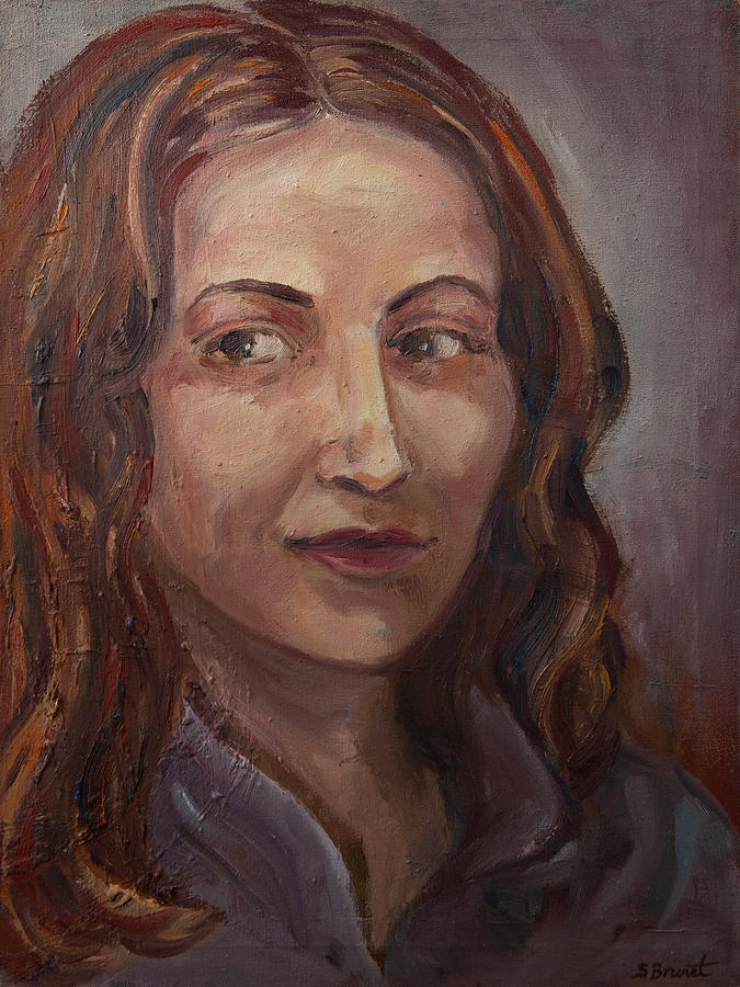 Sophie Brunet Painting - The Student by Sophie Brunet