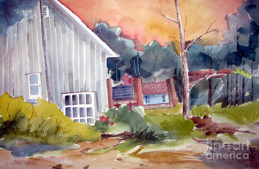 Landscape Painting - The Studio by Charlie Spear