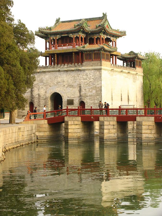 Asia Photograph - The Summer Palace by Richard Nowitz