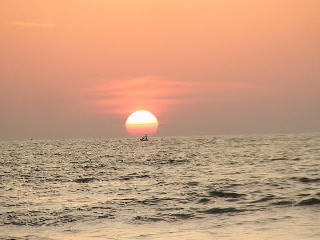 The Sun Before It Sets Photograph by Vallari Pradhan
