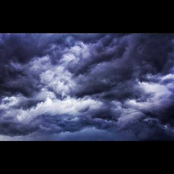 The Sunday Storm Over Leeds Photograph by Carl Milner