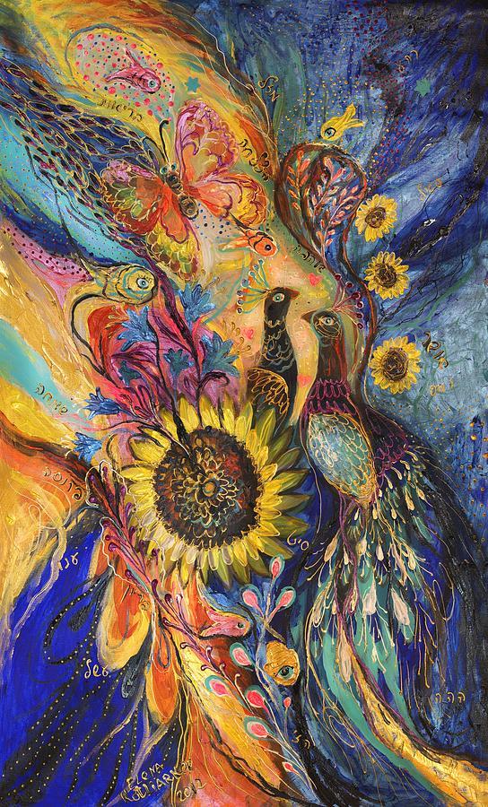 Original Painting - The Sunflower ... Visit Www.elenakotliarker.com To Purchase The Original by Elena Kotliarker