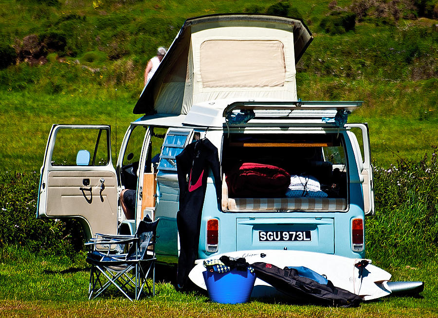 Vw Photograph - The Surf Bus by Paul Howarth