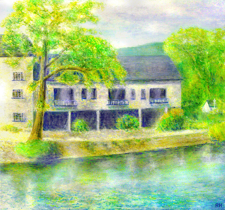 Swan Inn Painting - The Swan Inn - Lake Windermere by Ronald Haber
