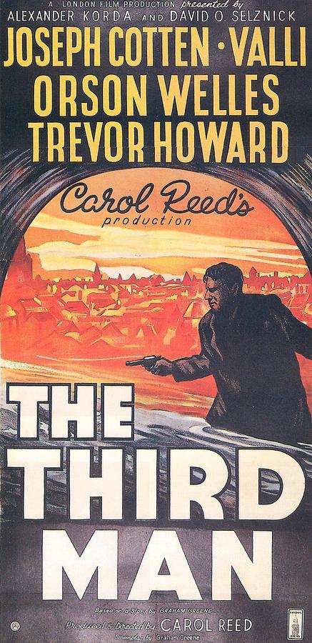 The Third Man Photograph - The Third Man  by Georgia Fowler