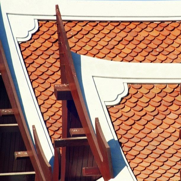 Gables Photograph - The Time To Repair The Roof Is When The by A Rey