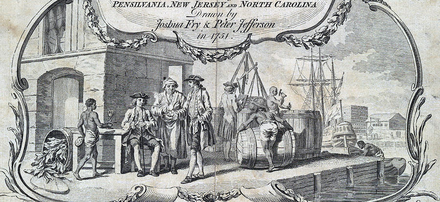 1750s Photograph - The Tobacco Trade. Merchants Relax by Everett