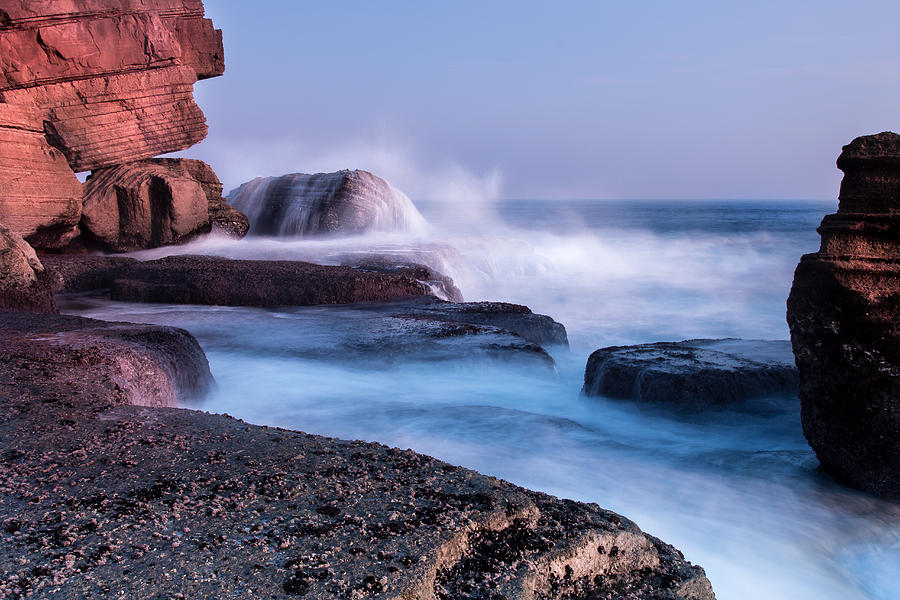 Sea Photograph - The Touch Of The Sea by Edgar Laureano