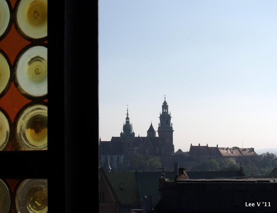 Krakow Photograph - The Tower Window by Lee Versluis
