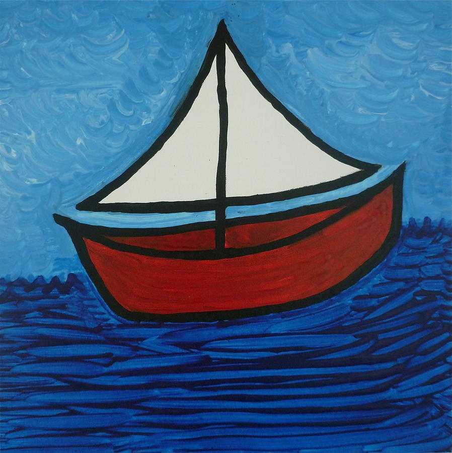 The Toy Boat Painting by Gregory Young