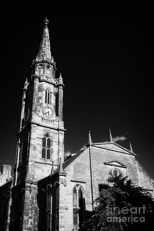 The Photograph - The Tron Church Edinburgh Scotland Uk United Kingdom by Joe Fox