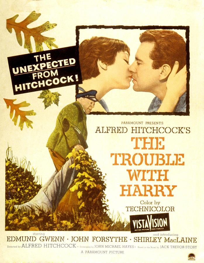 1950s Poster Art Photograph - The Trouble With Harry, Shirley by Everett