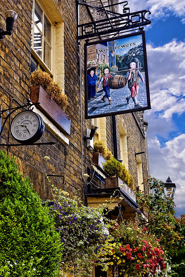 Pub Photograph - The Two Brewers by Wendy White