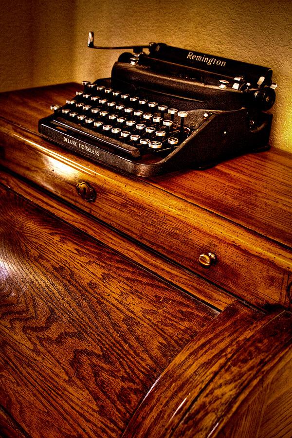 Remington Photograph - The Typewriter by David Patterson