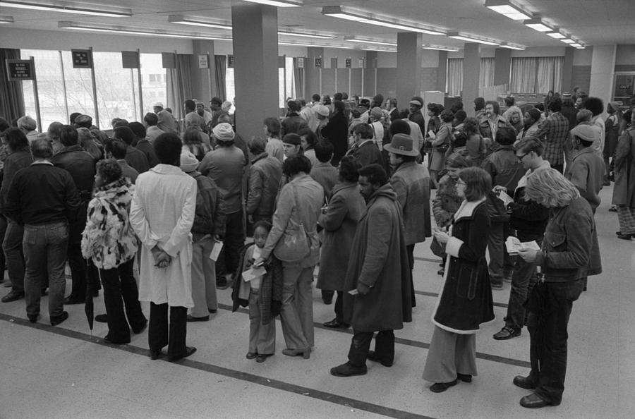 History Photograph - The Unemployed And Foodstamp Applicants by Everett