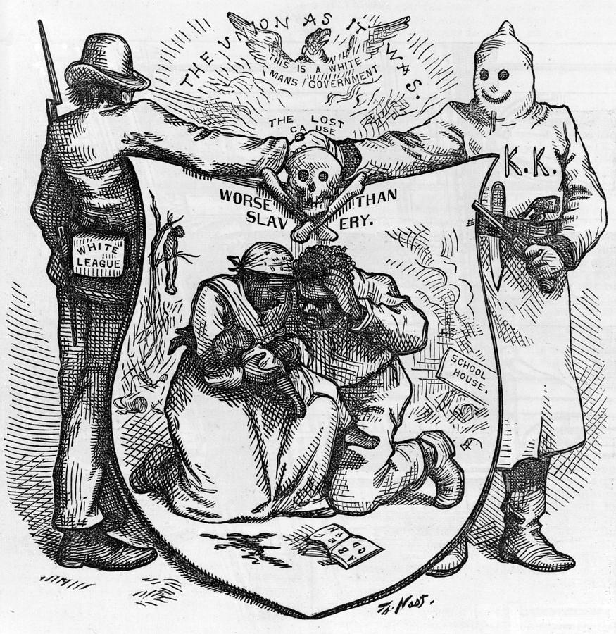 reconstruction and race relations Reconstruction and race relations examine three (3) methods that the overwhelmingly white southerner power structure used after the civil war to make the exercise of.