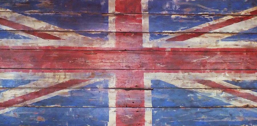 Flag Photograph - The Union Jack by Anna Villarreal Garbis