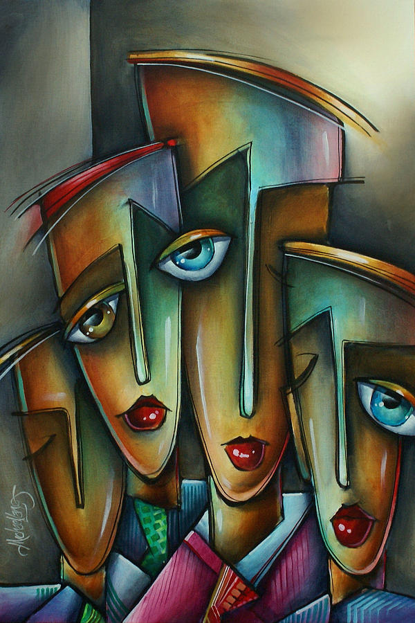 Urban Expressions Painting - The Union by Michael Lang